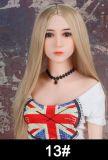 WM DOLL 由利奈 168cm Bカップ   シリコンヘッド+TPEボディ セックス人形