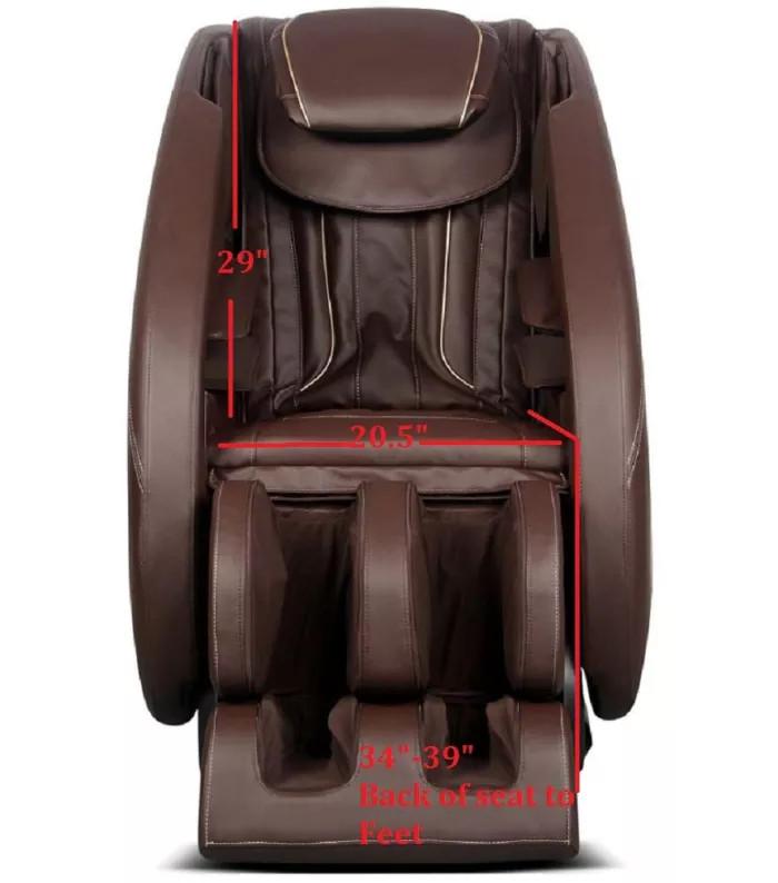 Massage Full Featured Shiatsu Chair with Built in Heat Zero Gravity Positioning Deep Tissue Massage