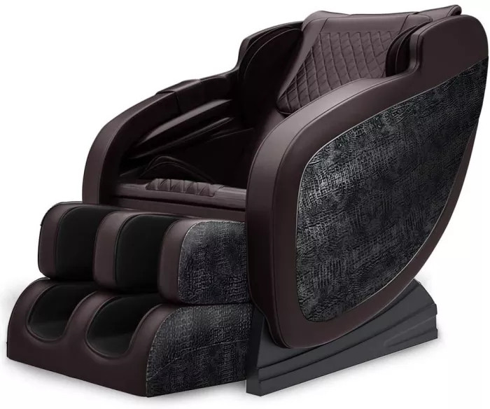 Limited order Brown Massage Chair,S-Track, Yoga Stretching, Zero Gravity Electric Massage