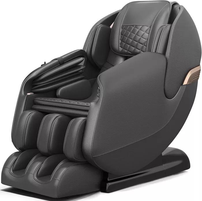 The New Massage Chair, Zero Gravity SL Track Massage Chair, Full Body Shiatsu Massage Recliner with Shortcut Key Body Scan Bluetooth Heat Foot Roller