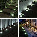 Solar Ground Lights, Waterproof Solar Garden Lights, Upgraded Outdoor Garden Waterproof Bright in-Ground Lights, Landscape Lights for Pathway,Yard,Deck,Lawn,Patio,Walkway