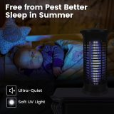 Bug Zapper Strongest Heaviest Duty Mosquito Zapper, Bug Zapper Outdoor, Bug Zapper Indoor, Mosquito Trap, Fly Zapper, Mosquito Killer Safe & Non-Toxic Silent & Effortless Operation for Home and Garden