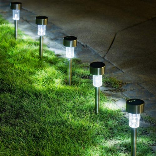Solar Path Lights Outdoor,Solar Lights Outdoor Garden Led Light Landscape/Pathway Lights for Patio/Lawn/Yard/Driveway/Walkway