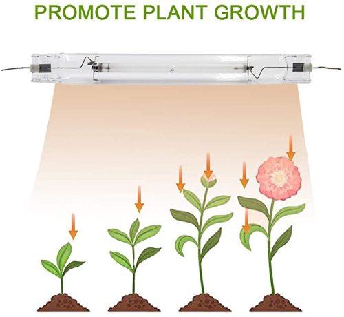 Flexible Lighting Range 1000w HPS/MH Double-Ended Hydroponic Grow Light