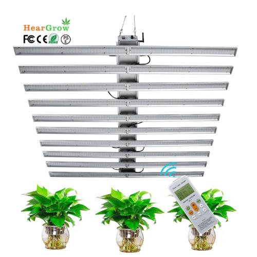 LED Grow Light Full Spectrum 1080W LM301B LM281B SANSUNG-LED Mean Well Driver IP65 Best Indoor Plant Grow Light Bar
