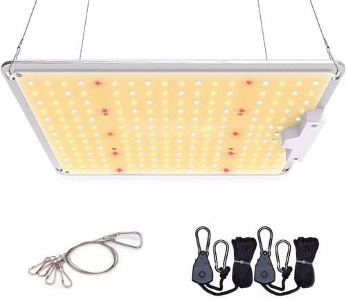GT-1000 LED Grow Light Use with Samsung 3030 LEDs Daisy Chain Dimmable Full Spectrum Grow Lights for Indoor Plants Veg Flower Greenhouse Growing Lamps with Driver