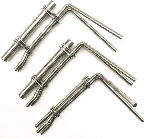 3pcs/Set Hydraulic Cylinder Piston Rod Seal Up U-Cup Installation Tool