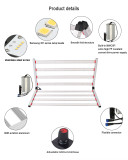 600W Hot Selling Spectrum Dimmable High Efficacy 6 Bars LED Plant Growth Light Designed Plant growth light