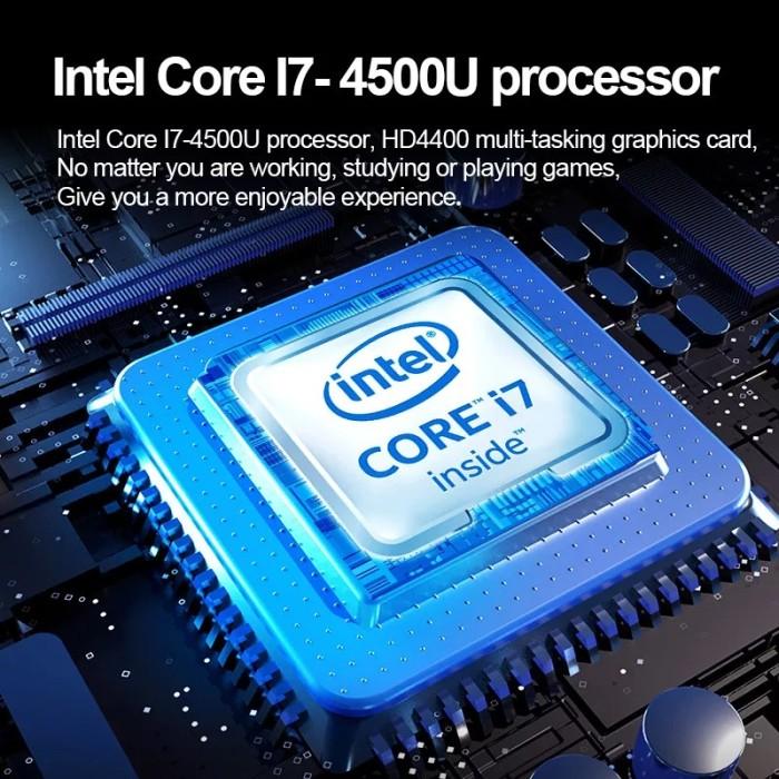 15.6 Inch Gaming Laptop Cheap 1920x1080 Intel i7 4500u Quad Core 8GB RAM 128GB 1TB SSD Windows 10 Computer