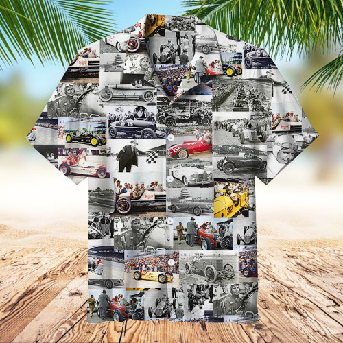 Showcase 100 Years Of Racing History   Collectible Hawaiian shirt