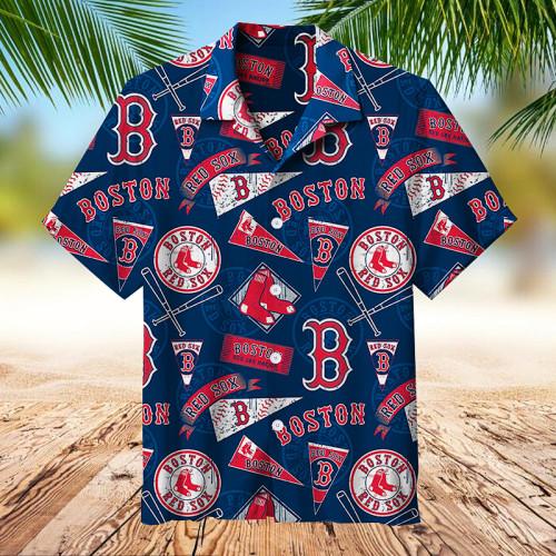 MLB Boston-Red-Sox   Collectible Hawaiian shirt