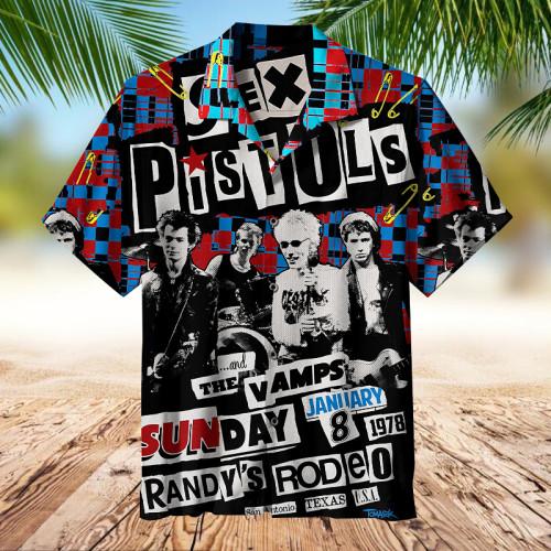 Sex Pistols 1978   Collectible Hawaiian shirt