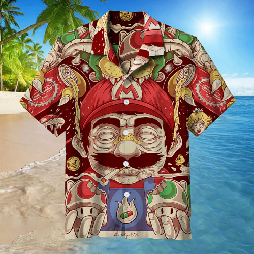 Mario   Collectible Hawaiian shirt