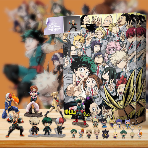 My Hero Academia  Advent Calendar - 24 Pocket Pop! Vinyl Figures