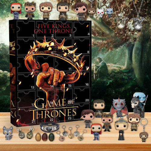 Game Of Thrones Advent Calendar -- The One With 24 Little Doors