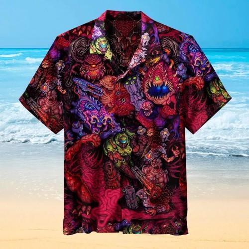 DOOM   Hawaiian Shirt