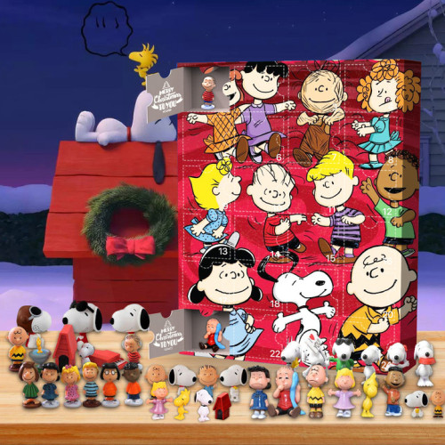2021 Snoopy Advent Calendar -- The One With 24 Little Doors