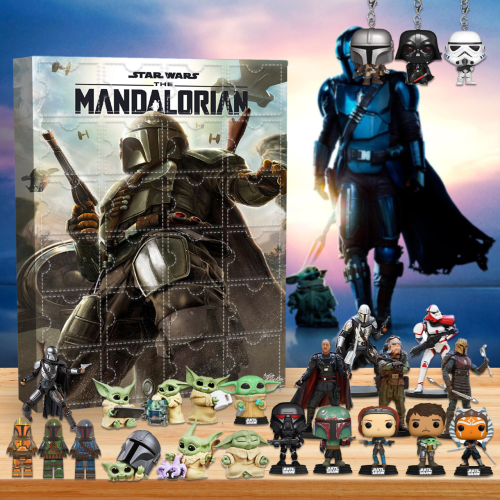 The Mandalorian Advent Calendar -- The One With 24 Little Doors