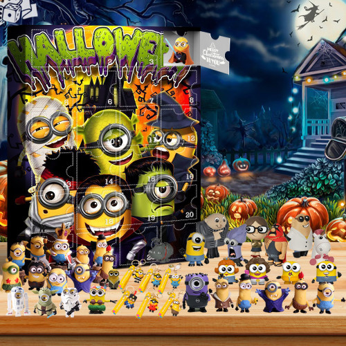 Minions Advent Calendar -- The One With 24 Little Doors