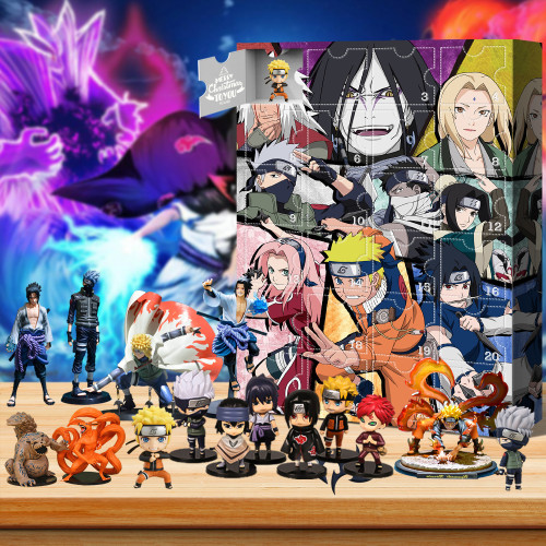 Naruto Advent Calendar -- The One With 24 Little Doors