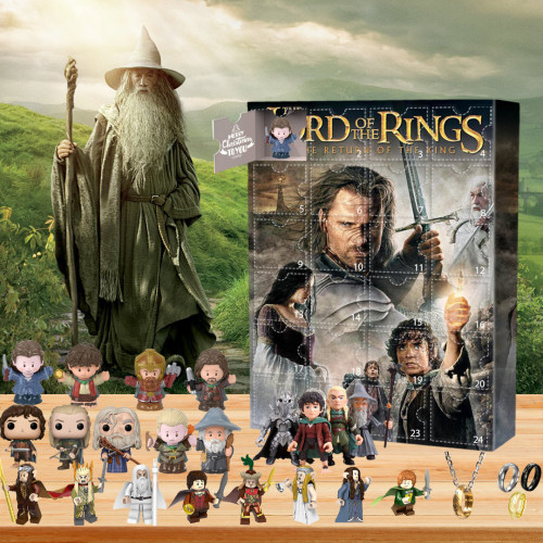 Lord of the Rings Advent Calendar- The One With 24 Little Doors