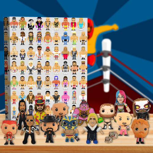 WWE Wrestling Advent Calendar -- The One With 24 Little Doors