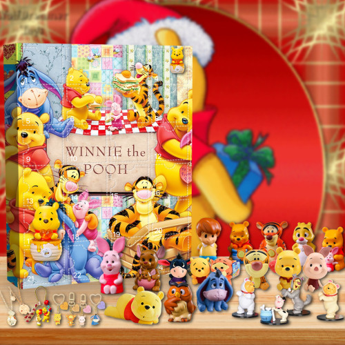 Disney Winnie the Pooh Advent Calendar -- The One With 24 Little Doors