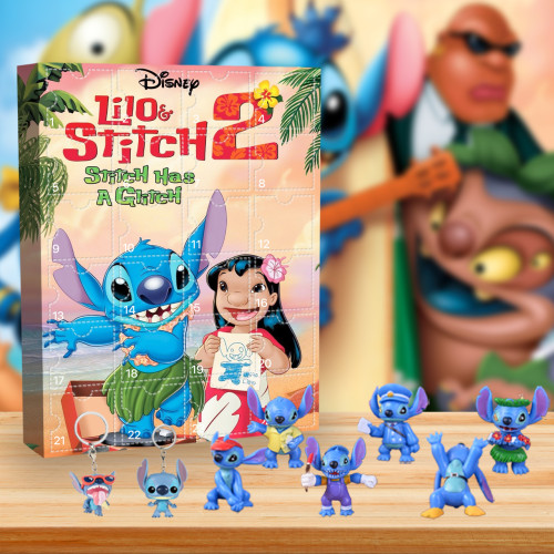 Stitch Advent Calendar -- The One With 24 Little Doors