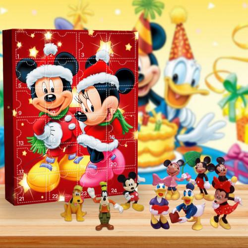 Disney Mickey Mouse Advent Calendar -- The One With 24 Little Doors
