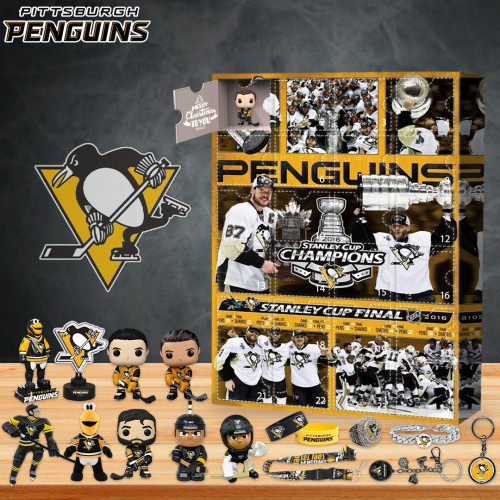 Pittsburgh Penguins Advent Calendar -- The One With 24 Little Doors
