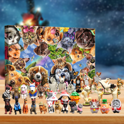 🎁2021 Dog Advent Calendar -- The One With 24 Little Doors