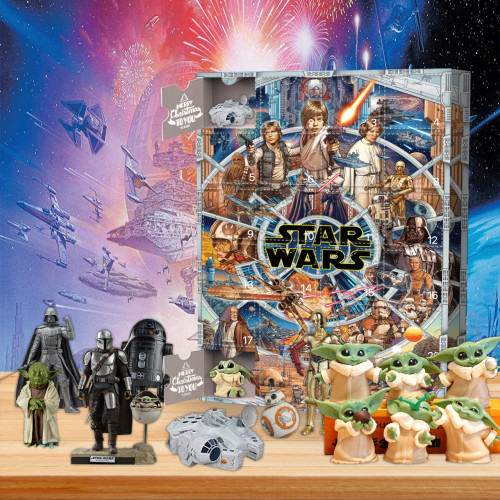 Christmas 24 days Advent Calendar - 🎉give away 24 Star Wars gifts