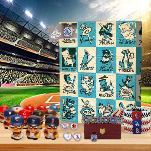1955 MLB Christmas 24 days Advent Calendar - 🎉give away 24PCS MLB gifts