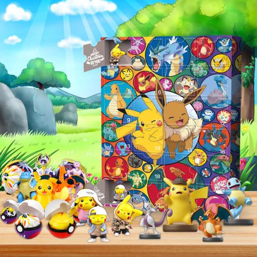 Christmas Pokémon Advent Calendar -- The One With 24 Little Doors