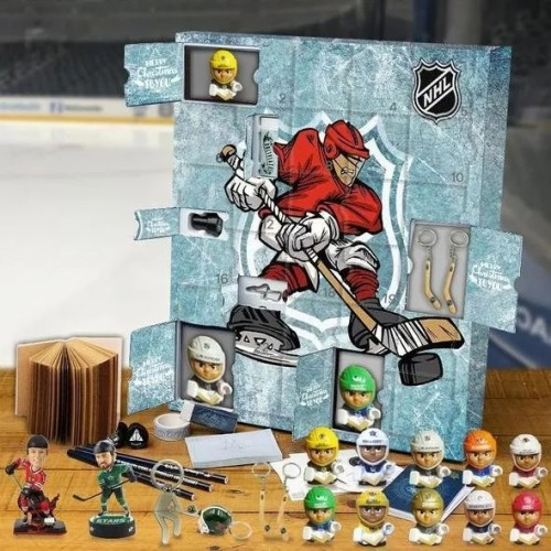 NHL  Advent Calendar -- The one with 24 little doors