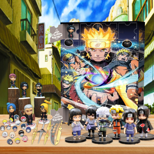 Naruto Advent Calendar -- 🕸The One With 24 Little Doors