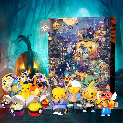 🎃Halloween Pokémon Advent Calendar -- 🕸The One With 24 Little Doors