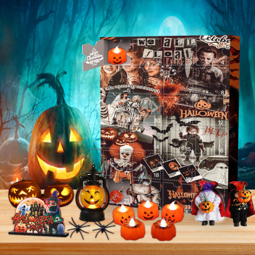 Halloween Horror Advent Calendar -- 🕸The One With 24 Little Doors