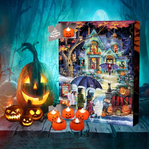 🎃Halloween Advent Calendar -- 🕸The One With 24 Little Doors