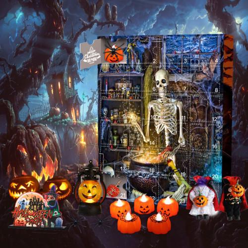 Skeleton Alchemist Advent Calendar -- 🕸The One With 24 Little Doors