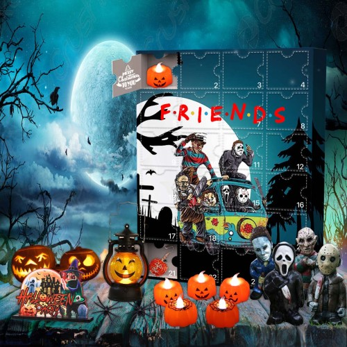 Horror Friends Advent Calendar -- 🕸The One With 24 Little Doors