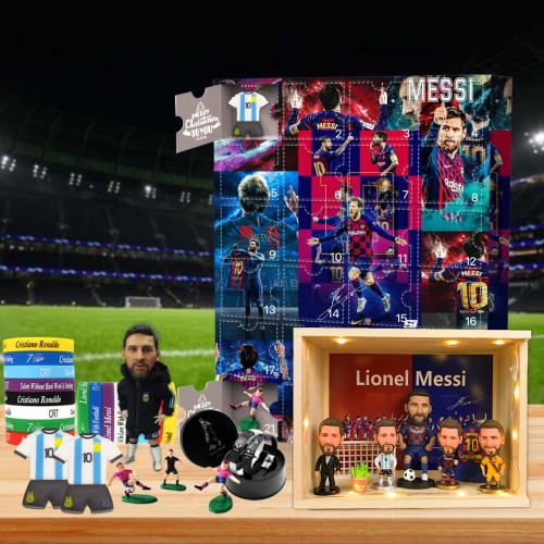 Tribute to Messi Advent Calendar -- 🕸The One With 24 Little Doors