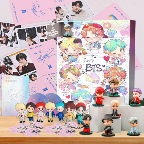 BTS Advent Calendar -- 🕸The One With 24 Little Doors