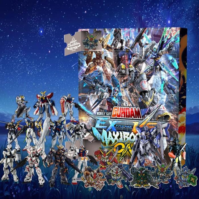 Gundam Advent Calendar -- 🕸The One With 24 Little Doors