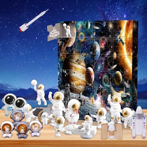 Astronaut Advent Calendar -- 🕸The One With 24 Little Doors