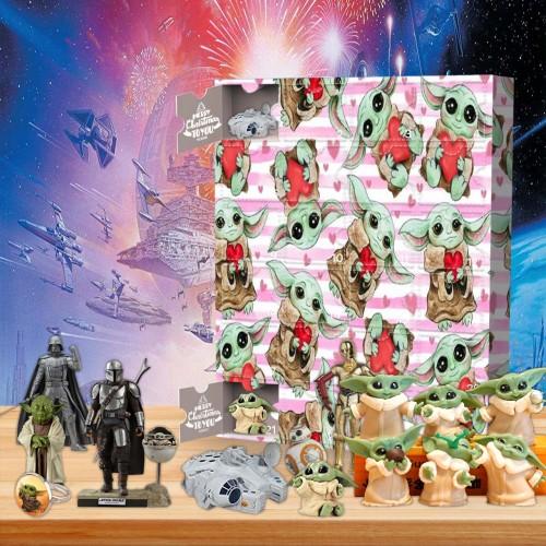 Baby Yoda Advent Calendar -- 🕸The One With 24 Little Doors