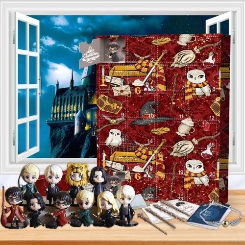 Harry Potter Advent Calendar -- 🕸The One With 24 Little Doors
