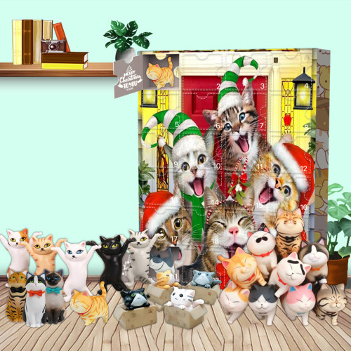 Cat Advent Calendar -- 🕸The One With 24 Little Doors