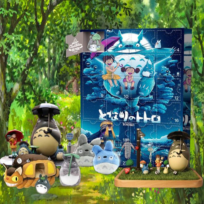 My Neighbor Totoro Advent Calendar -- 🕸The One With 24 Little Doors