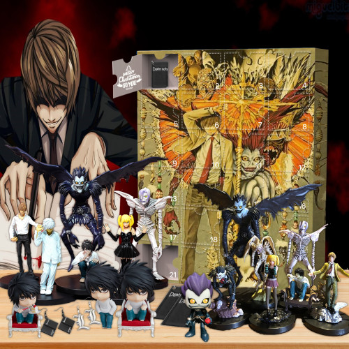 Death Note Advent Calendar -- 🕸The One With 24 Little Doors